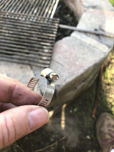 2nd step of custom diy grill grate
